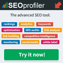 SEOProfiler. Limited offer. 20% discount.