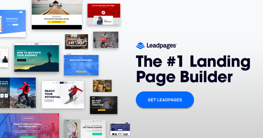 LeadPages. 14-day free trial for our readers