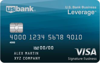US bank secured credit card.