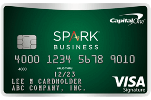business credit card. Capital one. Cash