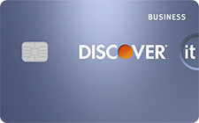 0% APR with Discover it Business card