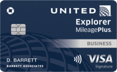 united explorer business credit card