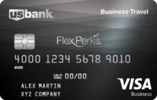 business credit card. us bank flexperks